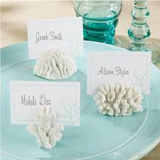theme wedding favors 2018 wedding favors and gifts seven seas coral place card photo