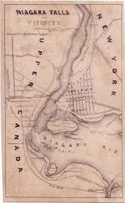 Niagra Falls Map Erie And Ontario Railway