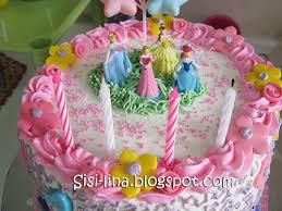 cara membuat hiasan kue ulang tahun anak sisi lina birthday cake