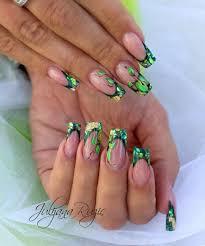 green nail designs green nail designs nail art pinterest