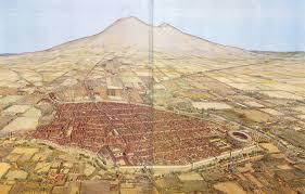 Pompeii Map Pompeii In Ad 79 Italy Papertowns