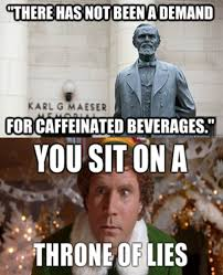 Utah Memes - new byu president doesn t mean new policy about caffeine utahvalley360