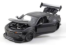 widebody camaro 2016 chevrolet camaro ss wide body with gt wing primer black 1 24