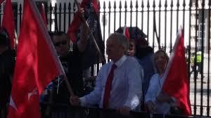 Golden Dawn Flag Pictures Neo U0027white Pride U0027 Demonstrators Wave Palestinian