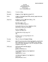 resume sample objectives 3 template classic 2 0 dark blue