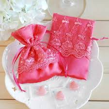 Wedding Gift Bags Original Quality Brocade With Lace Sweet Wedding Candy Bag Gift