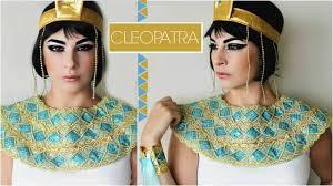 cleopatra makeup tutorial halloween look youtube