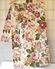 Large Floral Print Curtains Floral 100 Linen Curtains Drapes U0026 Valances Ebay