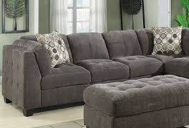 tweed sectional sofa grey sectional seven cushion chaise and