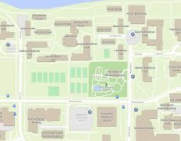 map of allen allen centennial garden univ of wisconsin