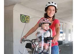 siege velo bébé polisport pare brise pour porte bébé avant alibabike