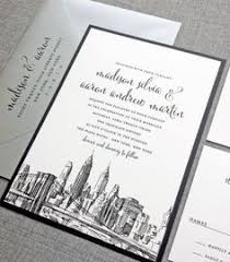 wedding invitations dublin wedding invitations with skylines of new york chicago and