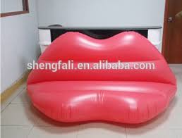 Pink Armchairs For Sale Sale Air Lounger Inflatable Lip Sofa For Adults For Promotion