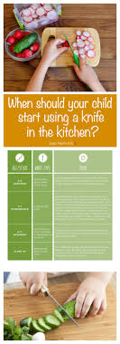 kitchen knives for children when should your child start using a knife in the kitchen