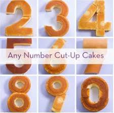 how to make a cake for a boy how to create easy number cakes no special tins required number