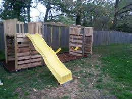 diy playground made from pallets by my mom vetta link and