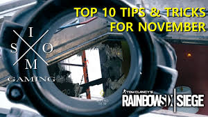 top siege auto rainbow six siege top 10 tips tricks for november
