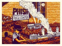 inside the rock poster frame blog phish worcester poster by james