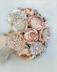 silk flower bouquets wedding silk fabric flower bouquet brooch diy 125397170844523977