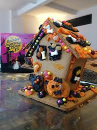 new york city haunted house halloween haunted gingerbread house kit my strange family
