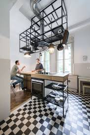 cuisine bois design cuisine design avec ilot 4 parquet chevron et cuisine bois et