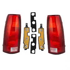 2000 silverado tail lights chevy truck tail light lens chevrolet pickup taillights