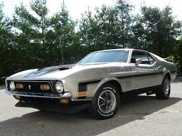 ford mustang mach 2 for sale light pewter metallic 1971 ford mustang mach 1 for sale mcg