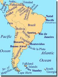 america map with rivers map of south american rivers