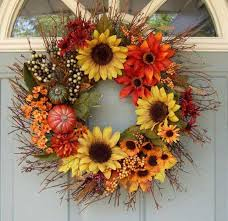 fall wreath ideas ideas for creating a beautiful fall wreath on the door ideas for