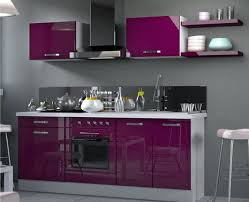 cuisine en l pas cher cuisine aubergine et grise perfekt meuble pas cher mat castorama bas