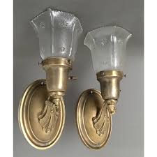Brass Sconces Antique Wall Sconces