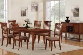 f2171 casual dining room in cherry w options by poundex