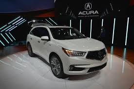 Acura Sports Car Price 2017 Acura Mdx Breaks The Norm With 3 Motor Sport Hybrid Model