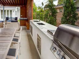 outdoor kitchen countertop ideas 13 outdoor kitchen countertop options hgtv