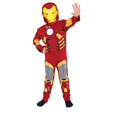 halloween iron man costume new avengers marvel superhero comic book kids boys mens fancy