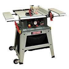 Woodworking Magazine Table Saw Reviews by Craftsman 10