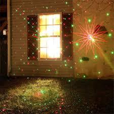 new christmas lights projector outdoor red u0026 green waterproof