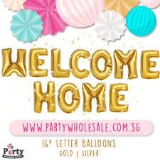 balloons wholesale welcome home balloons singapore party wholesale centre wow lets