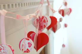 Valentine Home Decorating Ideas Woven Home Valentine U0027s Day Mantel
