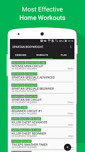 Bedroom Workout No Equipment Spartan Body Weight Home Workouts Free Android Apps On Google Play