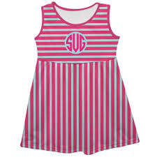 light blue tank dress stripe pink light blue tank dress vive la fête online children s