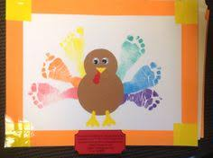 How Do You Say Thanksgiving Day In Turkey Thanksgiving Decoration Baby Footprint Personalized