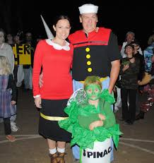 Popeye Family Costume Costume Contest Halloween Weekends