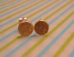 bullet stud earrings bullet shell earrings 4 steps