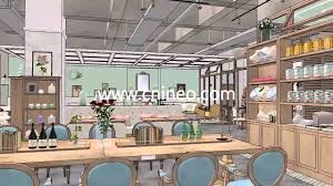 coffee shop kitchen design project coffee shop 3d design show