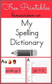 25 dictionary kids ideas writing binder