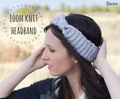 knit headband loom knit headband free loom knit pattern darice