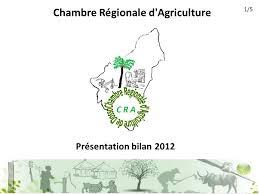 chambre r馮ionale d agriculture chambre régionale d agriculture présentation bilan 5 ppt télécharger