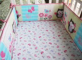 Crib Bedding Sets Uk Promotion 7pcs Crib Baby Bedding Set 100 Cotton Print Cot Quilt
