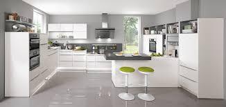 modern kitchen picture touch 332 alpine white supermatt modern kitchens nobilia küchen